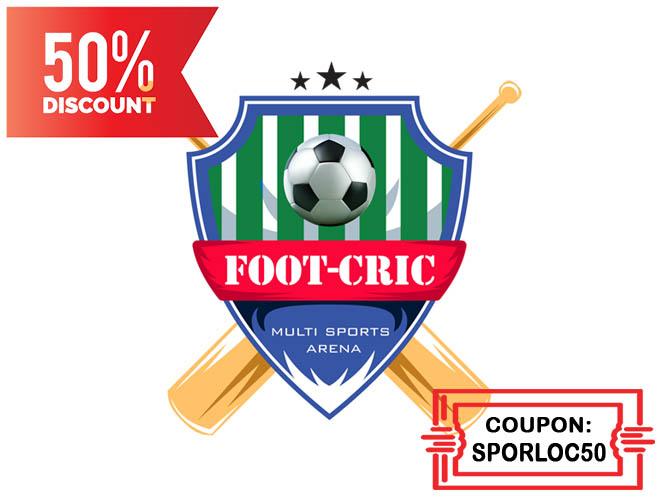 FootCric Turf, Borivali - by SPORLOC 870858Logo50-660x500