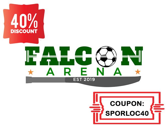 Falcon Arena - by SPORLOC 930887FALCONLOGO40-660x500